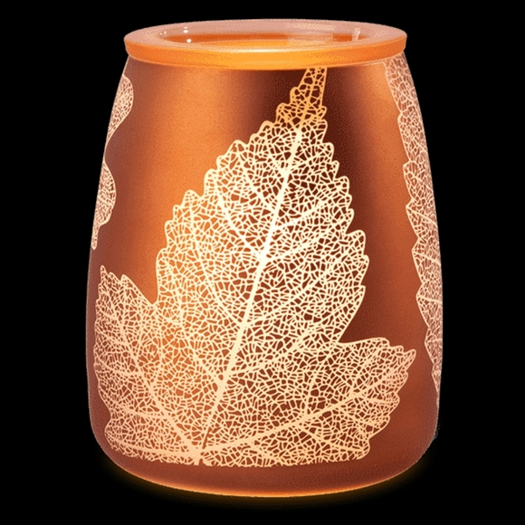 Scentsy Gold Leaf Warmer